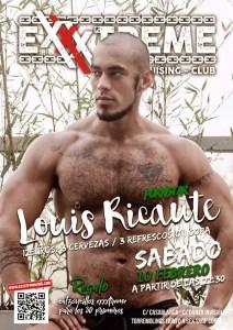 Louis Ricaute el sábado 10 de febrero en Exxxtreme
