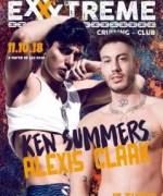 Ken Summers y Alexis Clark. Free codde party