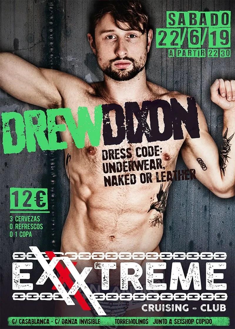 DREW DIXON el 22 de junio en EXXXTREME