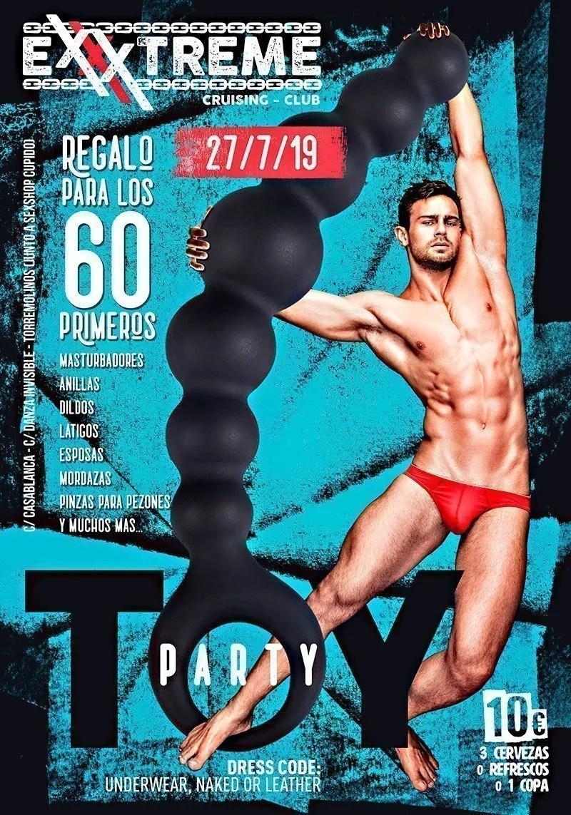 Toy Party, sábado 27 de julio