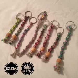EXZM Spiral Braided Hemp Keychains 10 6 2019 2
