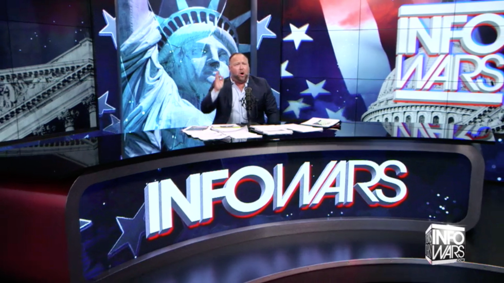 Alex Jones Infowars Studio EXZM Zack Mount November 29th 2020