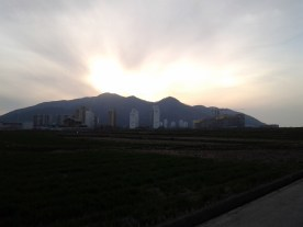 Sunset in Samcheonpo