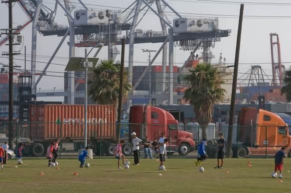 Soccer trucks