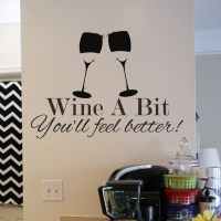 Wine wall decal sticker | wall art decal sticker