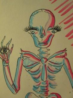 Skeleteye