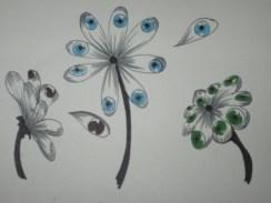An eye flower