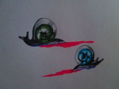 Day 180 1/7/14 Snail Shell Eye