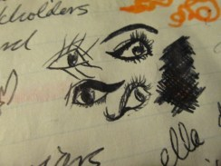 Day 189 1/16/14 4 Doodly Eyes