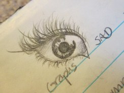 One of my most favorite eyes that I've drawn.