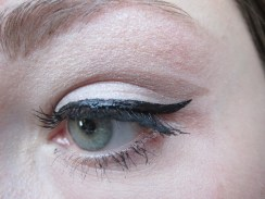 Day 241 3/9/14 Mid 1960s Eye with Bold Crease and Winged Liner