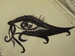 Day 273 4/10/14 Crazy Liner Eye