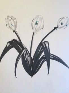 Day 280 4/17/14 Eye Tulip 3