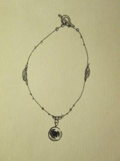 Day 290 4/27/14 Eye Bracelet