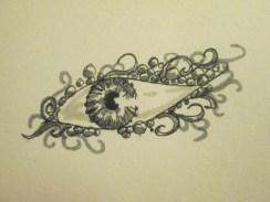 Day 292 4/29/14 Eye Brooch
