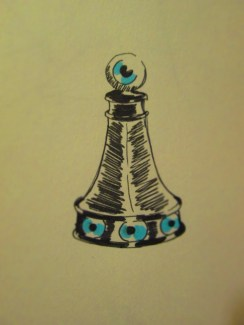 Day 345 6/21/14 Chess Piece Pawn Eye