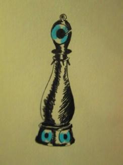 Day 347 6/23/14 Chess Piece Bishop Eye