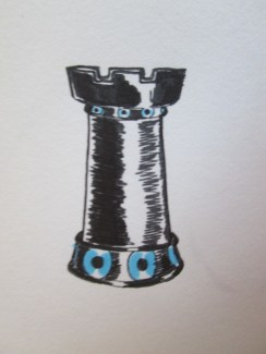 Day 348 6/24/14 Chess Piece Rook Eye
