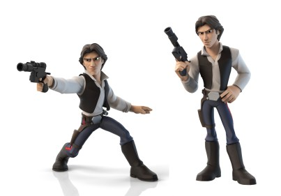 Han Solo marketing poses. ZBrush model posed by Matt Thorup and Ian Jacobs.