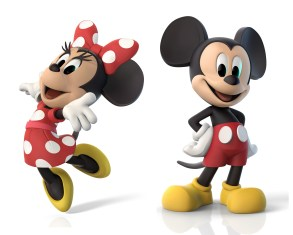 Classic Mickey and Minnie marketing images.