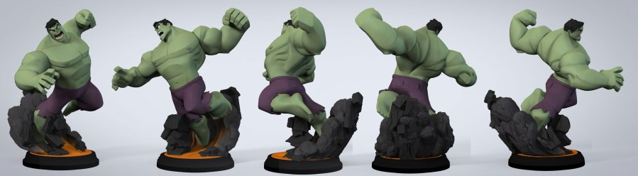 Concept Pose of Hulk I did - T-POSE by Bryan Allen
