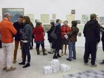(69) Lydie Marchi évoque cette exposition, comme «des petites bulles de champagne», c'est une belle image.