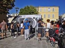 6. Le Gyptis Inside Out - Hors les Murs, Faîtes-vous tirer le portrait en (très) grand format dans la cabine photographique de l'Artiste JR ! Les 4 et 5 septembre 2014 / http://www.lafriche.org/content/le-gyptis-inside-out-hors-les-murs / http://www.insideoutproject.net./fr / © Laure JEGAT 2014