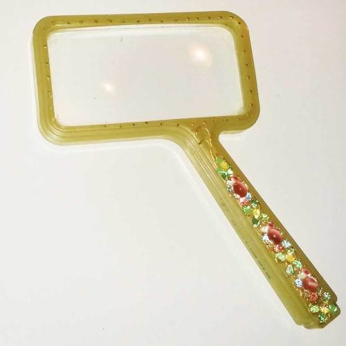 Bausch & Lomb Lucite Magnifying Glass