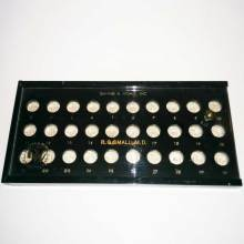 Danker & Wohlk hard contact lens fitting set