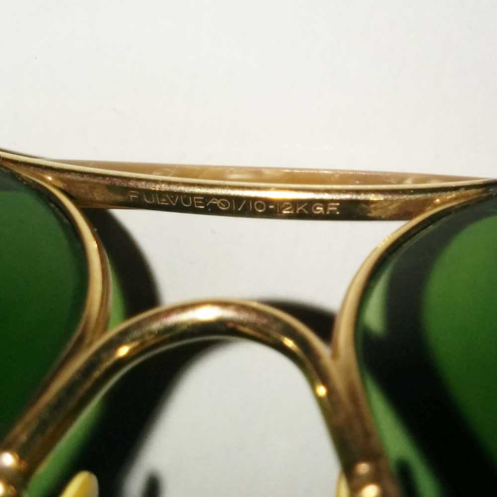 aea0a7aff9 AO Ful-Vue Aviator Sunglasses 1 10 12KGF with