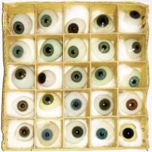 Blown Glass Prosthetic Eyes 1900