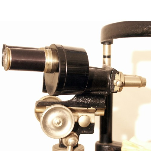 Early Goldman Haag Streit slit lamp 1932