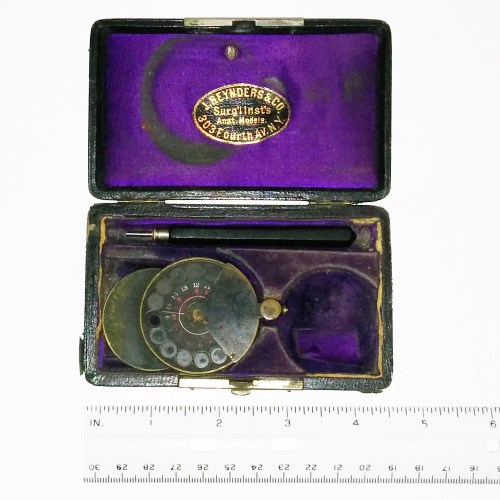 Loring ophthalmoscope 1876