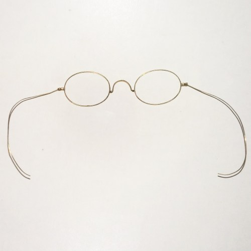 Gold filled wire rim frames circa 1890