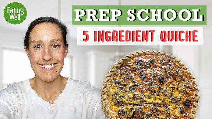 How to Prep 5-Ingredient Quiches for Brunch in 15 Minutes or Less | Prep School | Eating Well