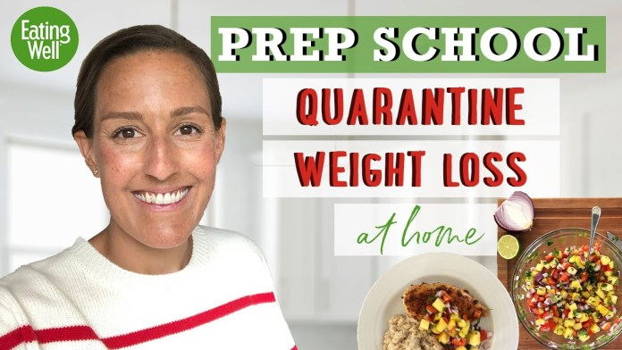 Starting a Weight Loss Plan During Quarantine | Diet for Fat Loss | Prep School