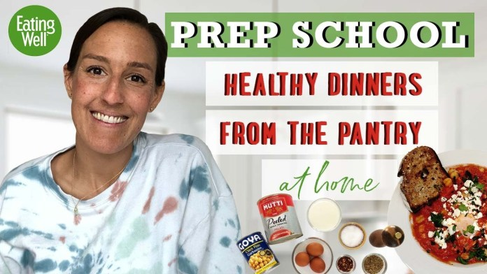 Irresistible Pantry Meals!! | Easily Make Dinner #WithMe | Prep School