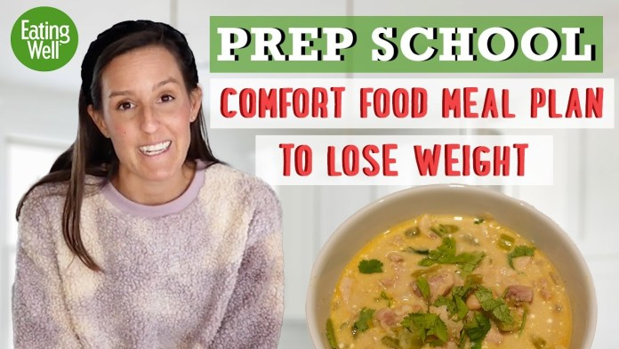 How to make Creamy White Chili with Cream Cheese | Comfort Food Weight Loss Recipe | EatingWell