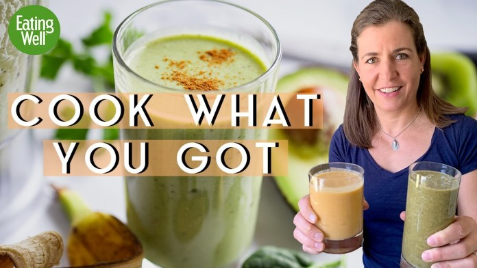 Making VEGGIE-tastic SMOOTHIES with Jessie Price | Cook What You Got (IG Live)