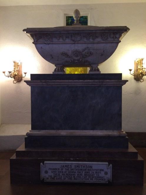 Smithson's actual tomb