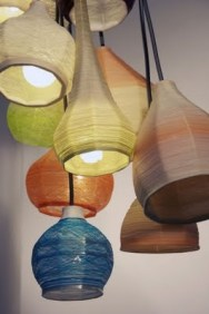Spun shades from Jenny Bland