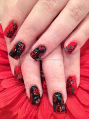 eye candy nails & training - red