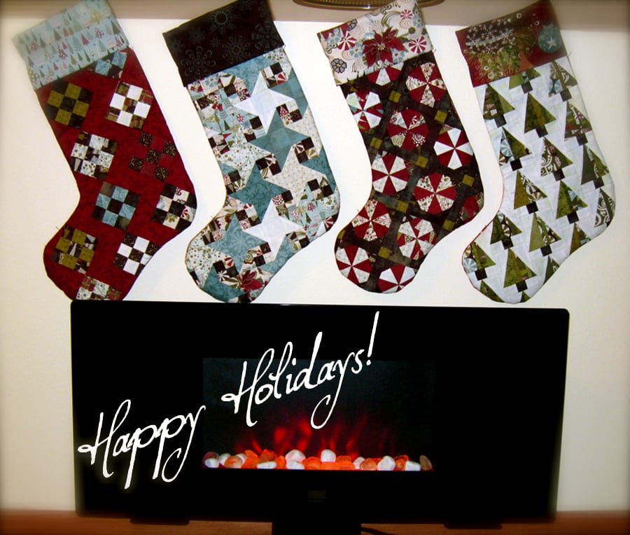 And the Stockings Were Hung Above the Electric Fireplace With Care…