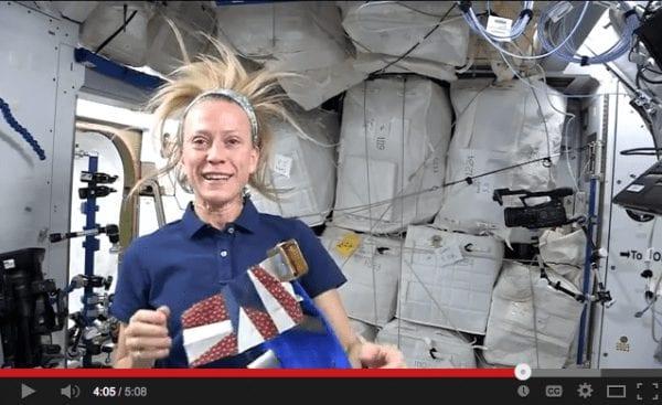 Astronaut Karen Nyberg