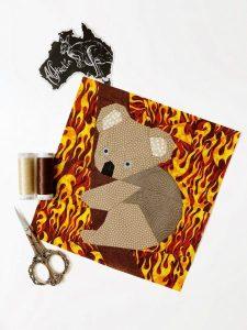 Koala Quilt Block Pattern by Joe and June and Mae