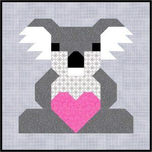 Koala Mama Block by Sew Fresh Quilts
