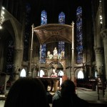 Catholic Mass in the Roncesvalles Chappel.