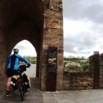 Arriving in Puente la Reina