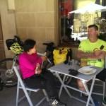 Paula and Fernando in Los Arcos