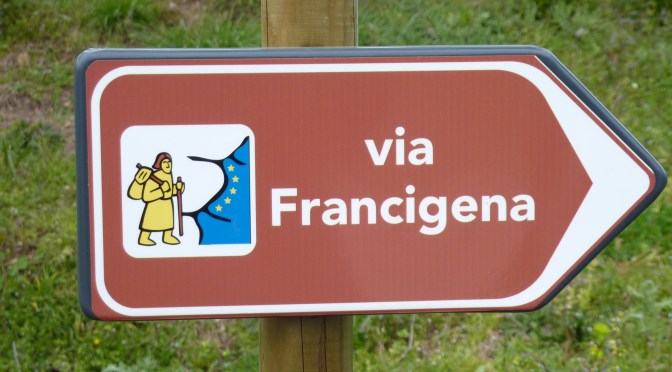 Via Francigena... Exciting news.